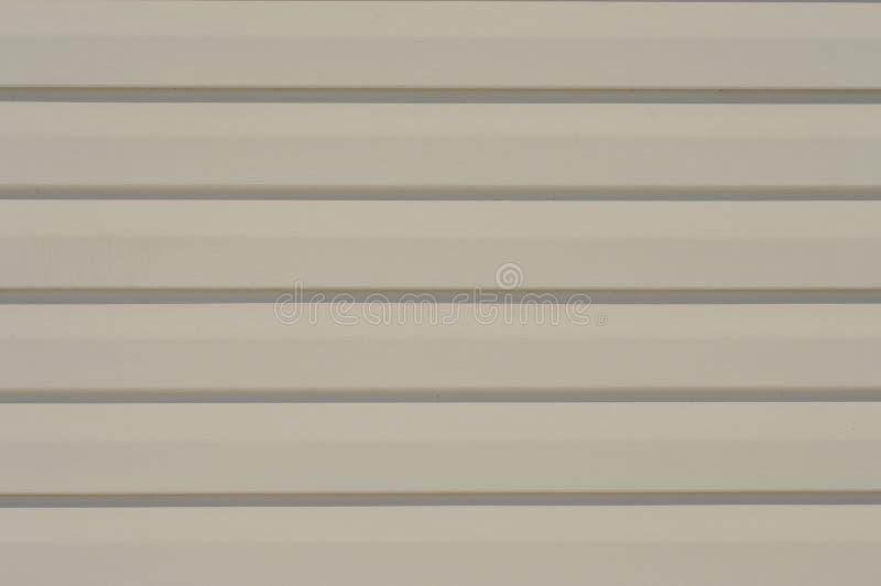 Vinylsidmöblemang för cladding för yttre vägg arkivbild