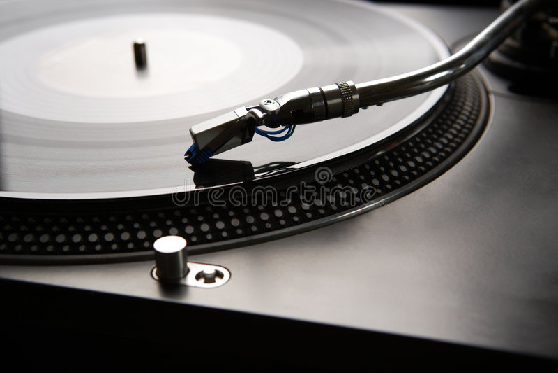 Vinylspieler stockbilder
