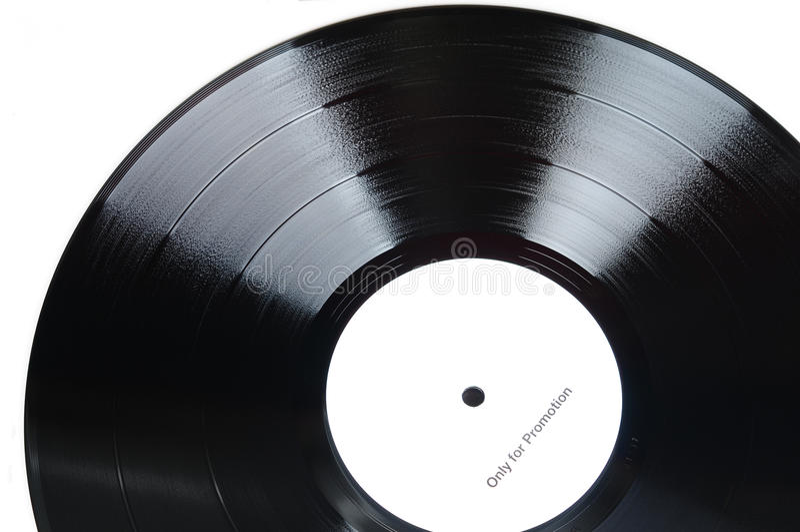 Vinylverslagen royalty-vrije stock foto