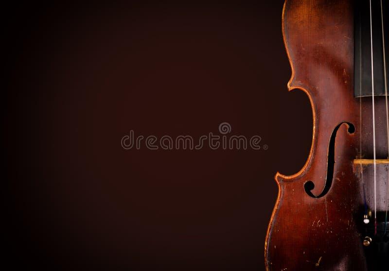 violín de madera viejo imagenes de archivo