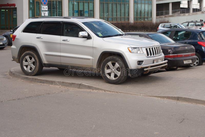 Violação do estacionamento fotos de stock royalty free
