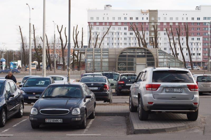 Violação do estacionamento imagem de stock royalty free