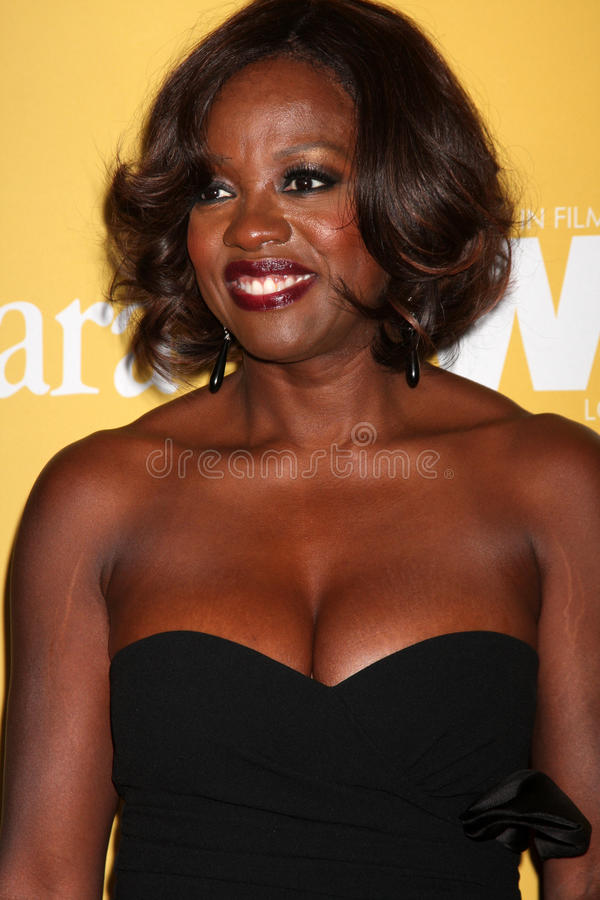Viola Davis Arrives At The City Of Hope S Music And Entertainment Industry Group Honors Bob Pittman Event Editorial Photo