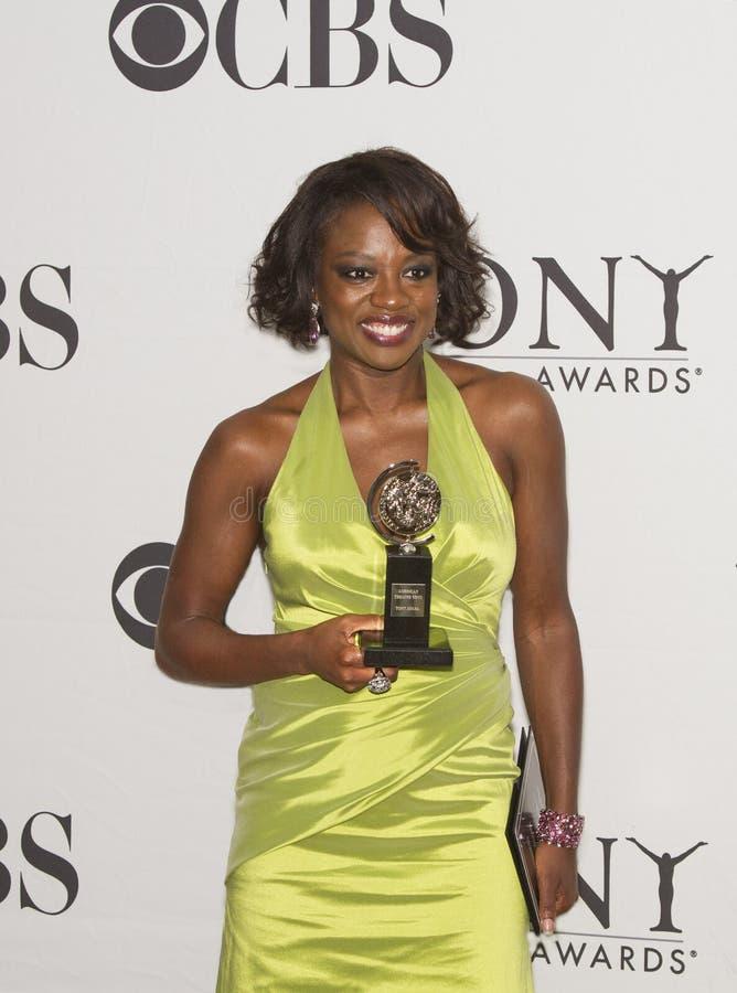 Viola Davis Wins Big chez soixante-quatrième Tony Awards annuel en 2010 image stock