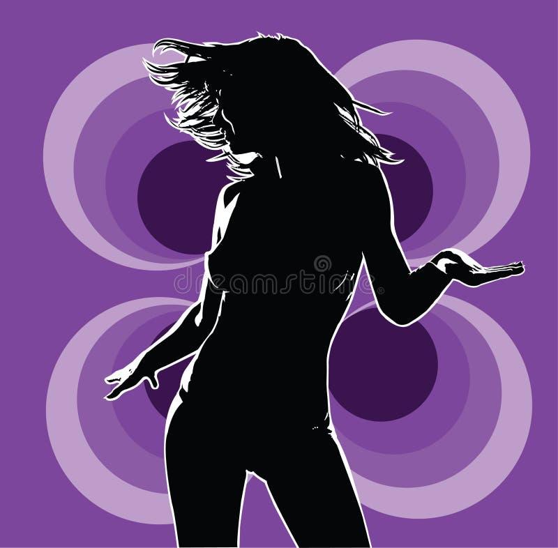 Viola della discoteca 01 fotografia stock
