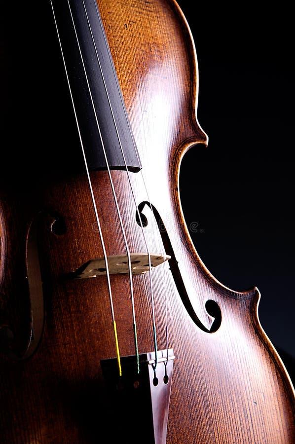 viola odosobnione czerni skrzypce. zdjęcia royalty free