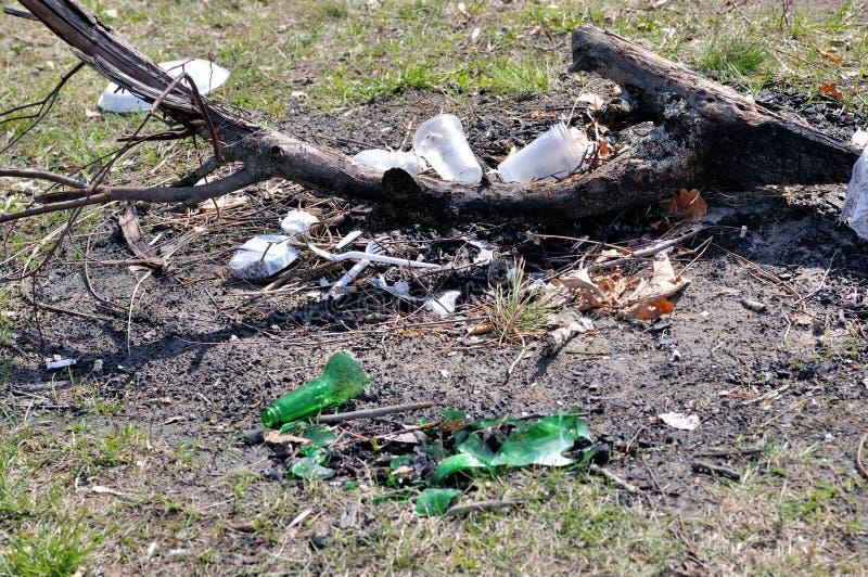 Violation Et Négligence De Nature Et D écologie Photos stock