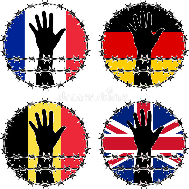Download Violation Of Human Rights In European Countries Royalty Free Stock Photo - Image: 30935955