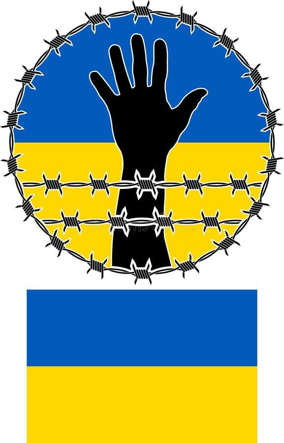 Download Violation Of Human Rights In Ukraine Stock Vector - Illustration: 36009807