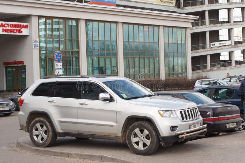 Violazione di parcheggio immagini stock libere da diritti