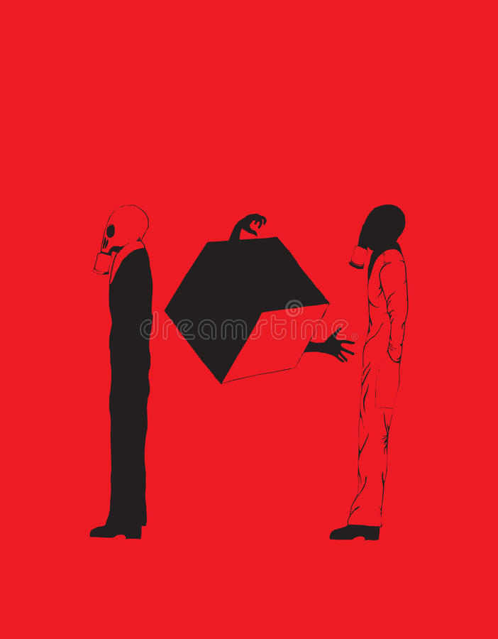Download Violence on tv stock illustration. Image of danger, fear - 13645645