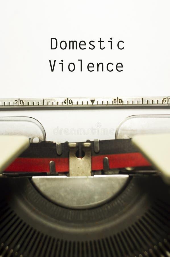 Violencia en el hogar fotografía de archivo libre de regalías