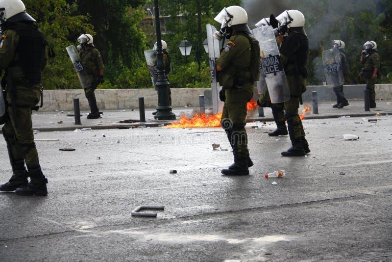 Violent clashes during Merkel visit in Athens