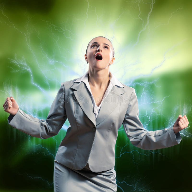 Download Violent Woman Royalty Free Stock Photos - Image: 35605358