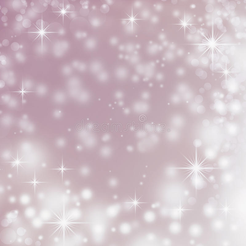 Violet abstract background christmas white lights vector illustration