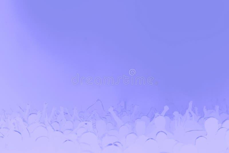 Violet Background Music Stock Image