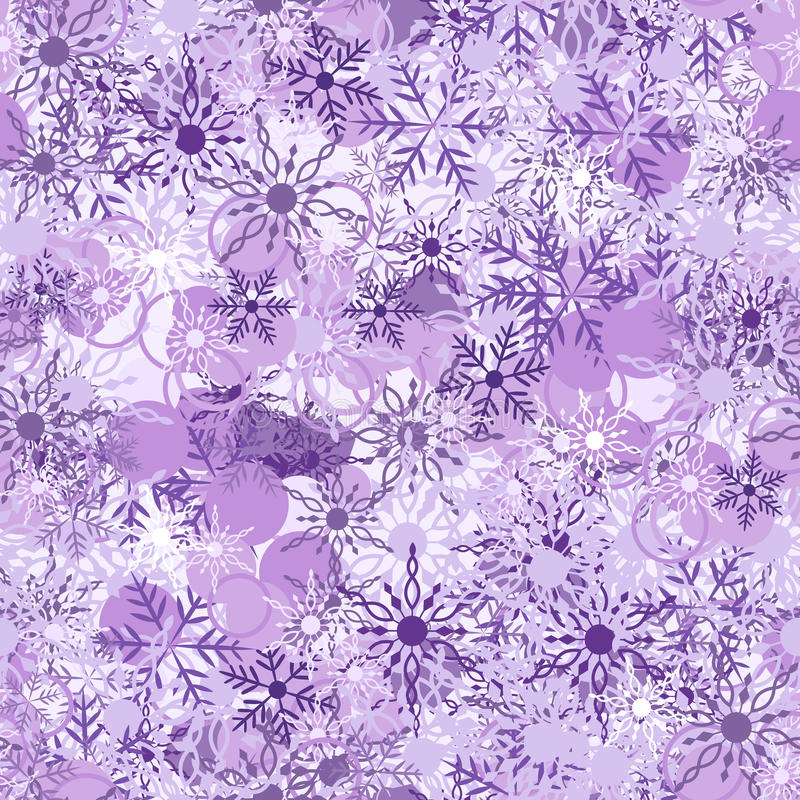 Free Violet Background With Snowflake Stock Photos - 16833753
