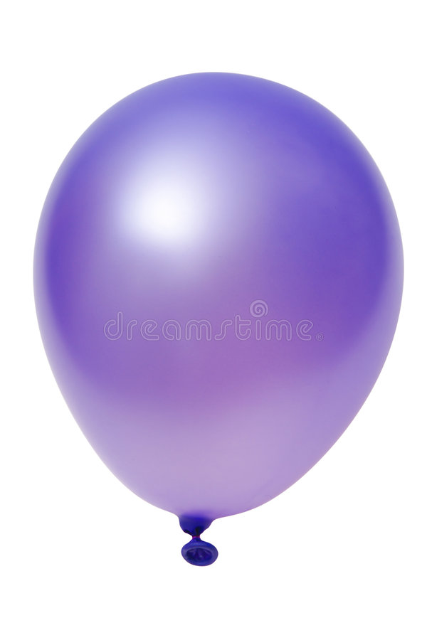 Download Violet balloon stock image. Image of balloon, glad, favor - 6912511