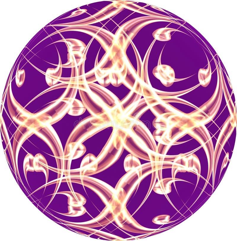 Violet bauble