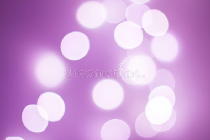 Violet bokeh royalty free stock image