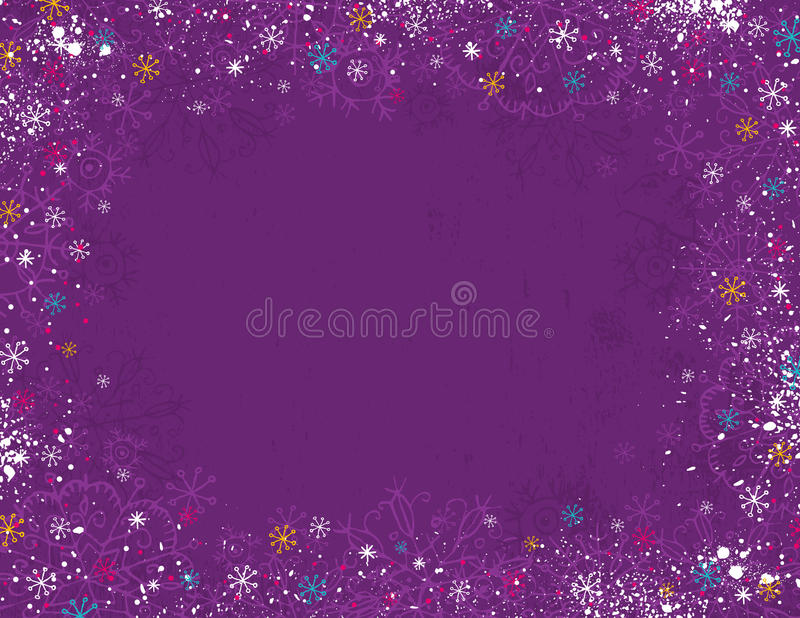Download Violet Christmas Background, Stock Vector - Illustration of design, nature: 16536035