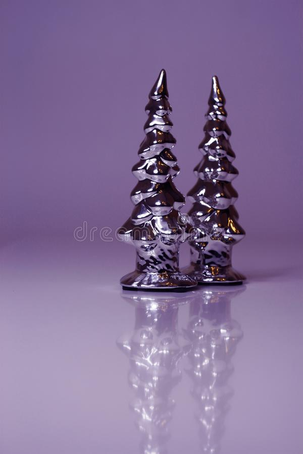 Violet Christmas background stock images