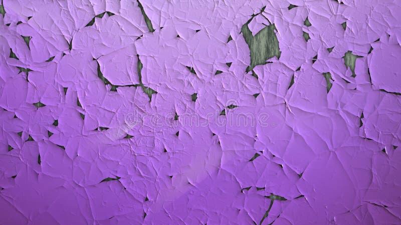 Violet Crack Texture vektor abbildung
