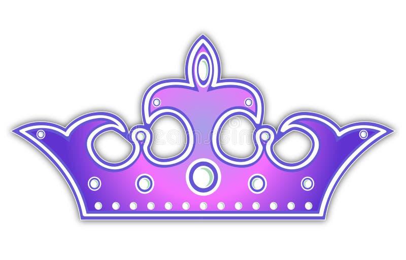 Download Violet Crown Royalty Free Stock Image - Image: 15975876
