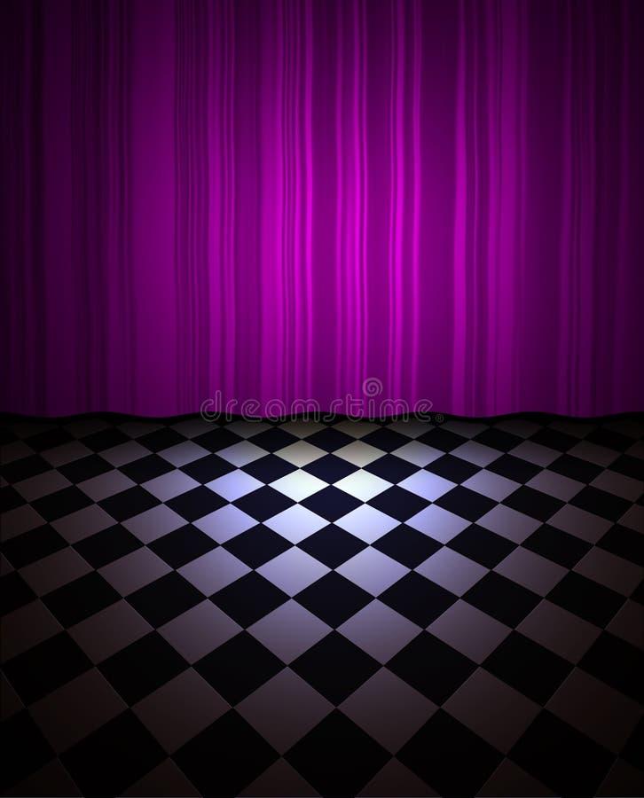 Download Violet drop scene stock illustration. Image of brightly - 31148807