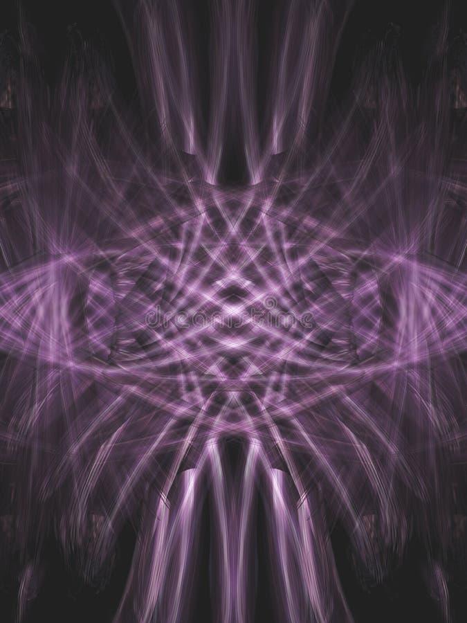 Violet fantasy vector illustration