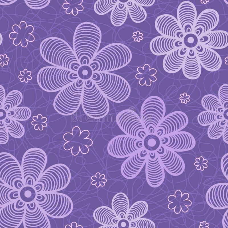 Download Violet flowers pattern stock image. Image of cute, flowering - 24980965