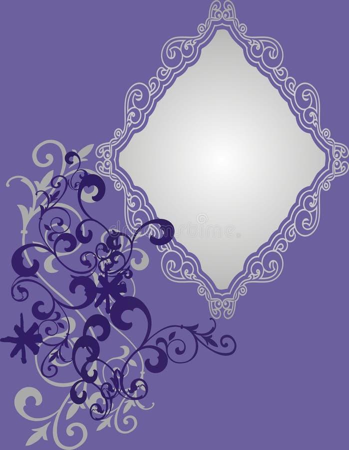 Violet Frame Royalty Free Stock Photos
