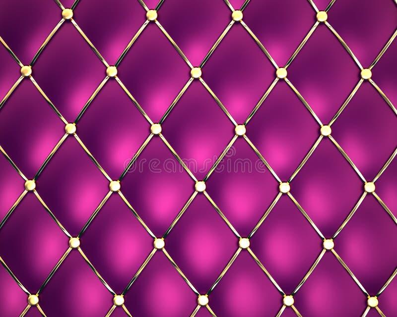 Download Violet genuine leather stock illustration. Image of decorating - 17252898