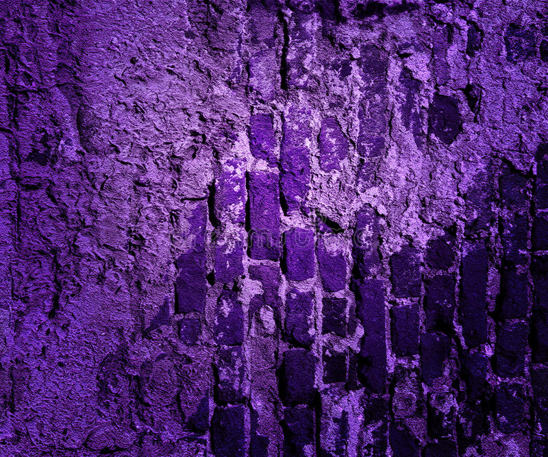 Violet Grunge Wall Texture imagens de stock royalty free