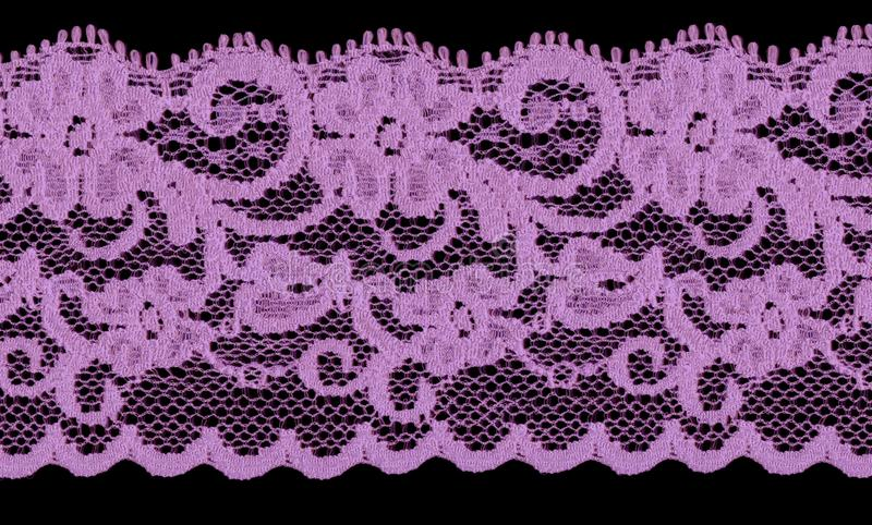 Violet Lace Band Royalty Free Stock Photos