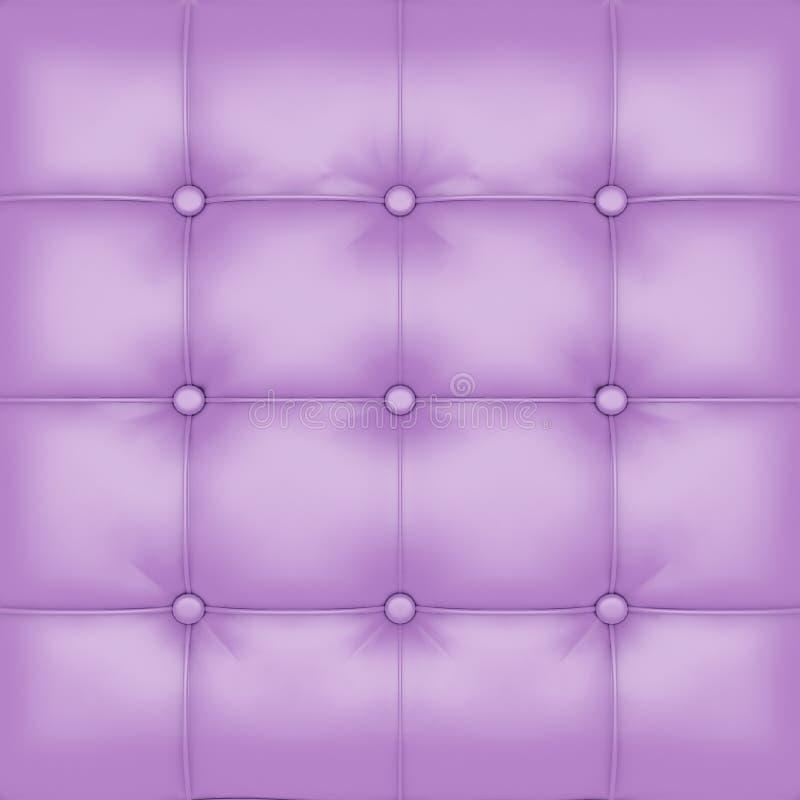 Violet Leather Upholstery Background royaltyfri foto