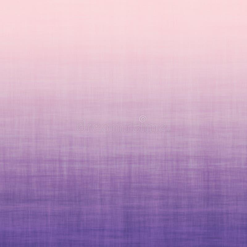 Violet Linen Cotton Grunge Gradient för pastellfärgade Millennial rosa färger ultra minsta bakgrund royaltyfri illustrationer