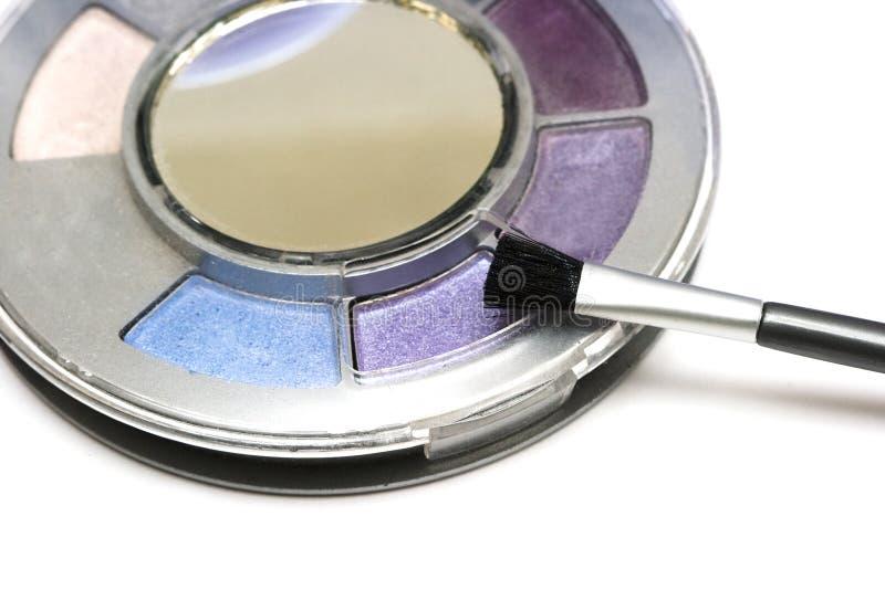 Download Violet make-up eyeshadows stock image. Image of elegance - 8418675
