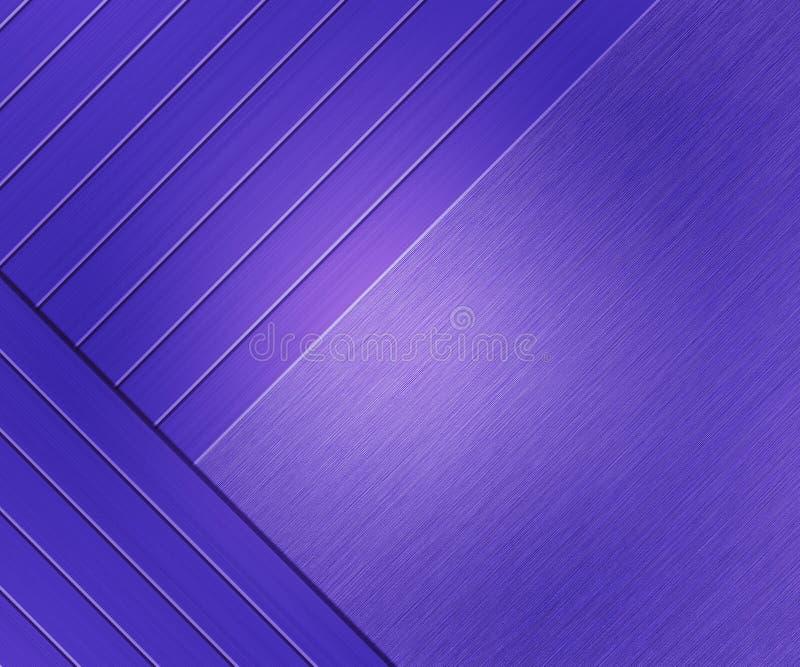 Violet Metallic Texture Brushed Metal royalty-vrije stock afbeelding