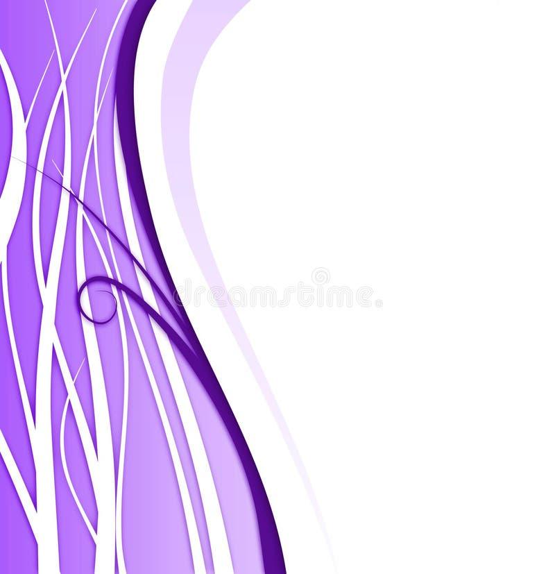 violet oddziału tło royalty ilustracja