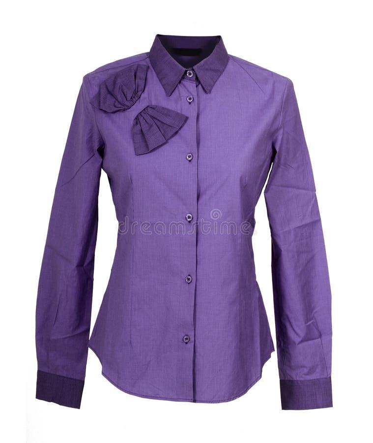 Violet overhemd stock foto's