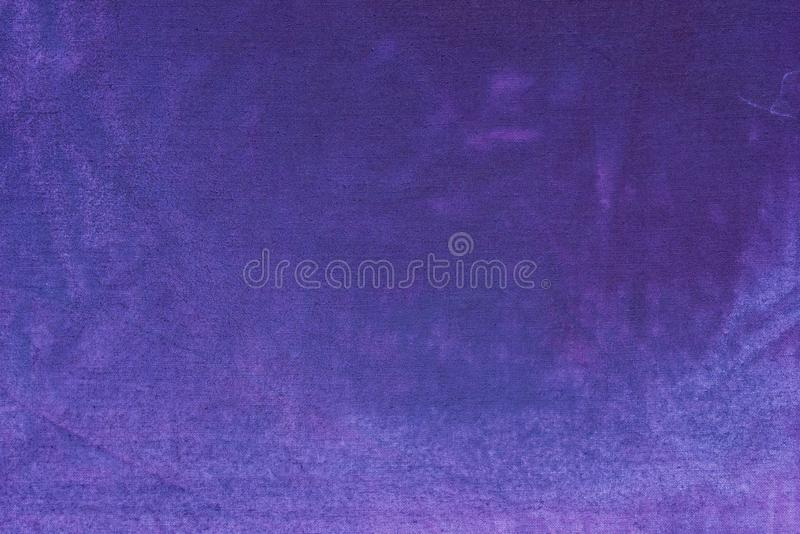 Violet painted textile background texture. Violet color painted textile background stock photos