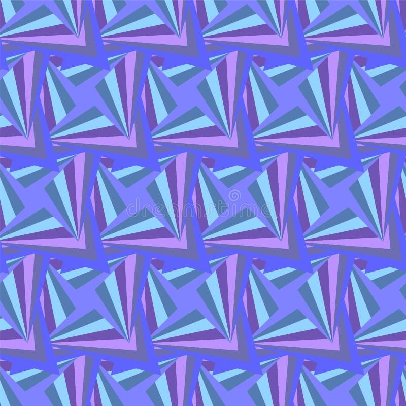 Violet Pattern poligonal inconsútil Fondo abstracto geométrico libre illustration