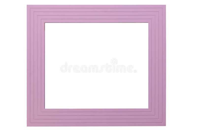 Violet Picture Frame immagine stock