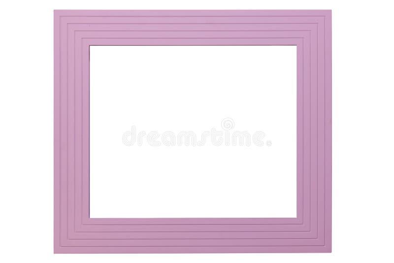 Violet Picture Frame imagen de archivo