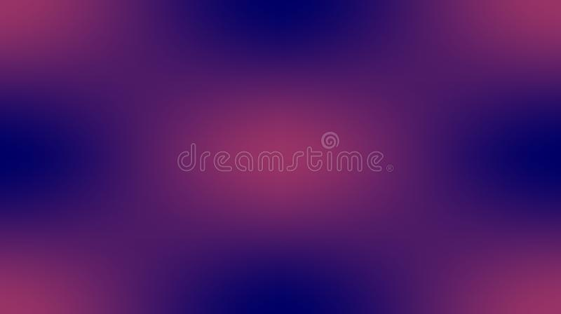 Violet pink colors blurred shaded background wallpaper. vivid vector illustration. Many uses for advertising, book page, paintings, printing, mobile stock illustration