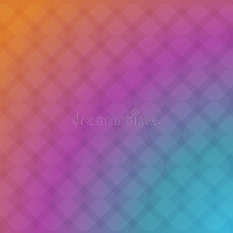 Violet rhomb abstract background stock illustration