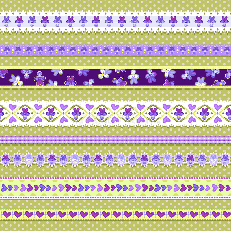 Download Violet Ribbons Stock Photography - Image: 28245702
