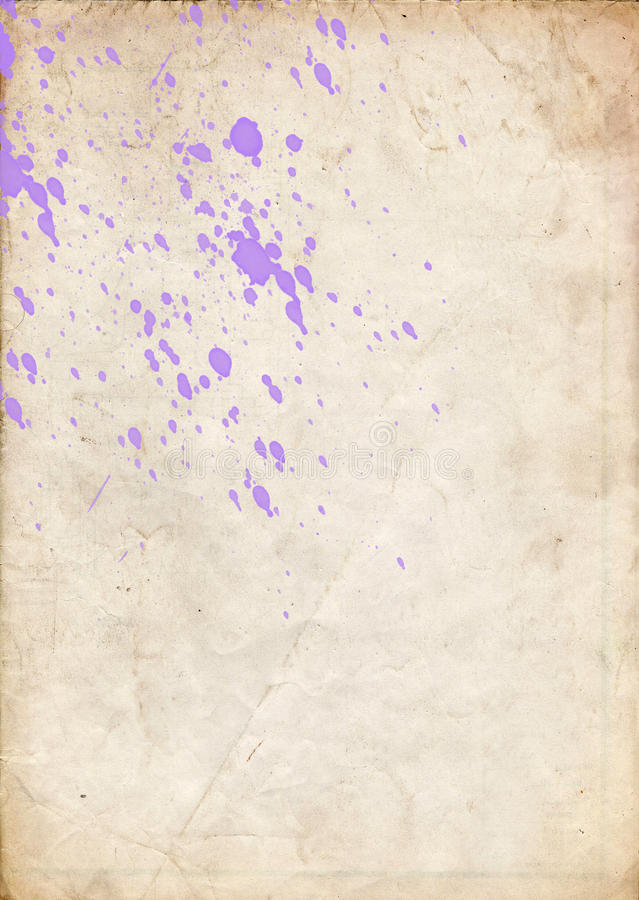 Violet spray. Paint dots make a very fine background stock images