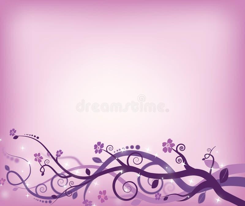 Violet swirls royalty free stock photos